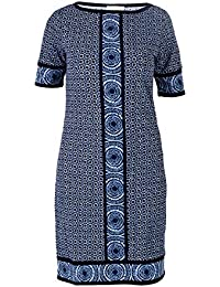 7d266d5df0 Michael Kors Michael Women's MU68W9C4HT390 Blue Polyester Dress