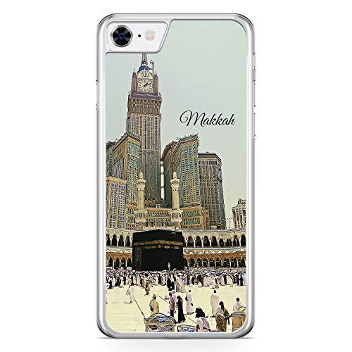 Panorama Makkah Mekka - Hülle für iPhone 6 / 6s - Motiv Design Islam Muslimisch Schön - Cover Hardcase Handyhülle Schutzhülle Case Schale