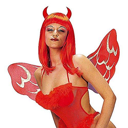 Preisvergleich Produktbild Dress Up Set Teufel Devil Flügel Hörner Teufelin sexy Feuer Gothic Satan