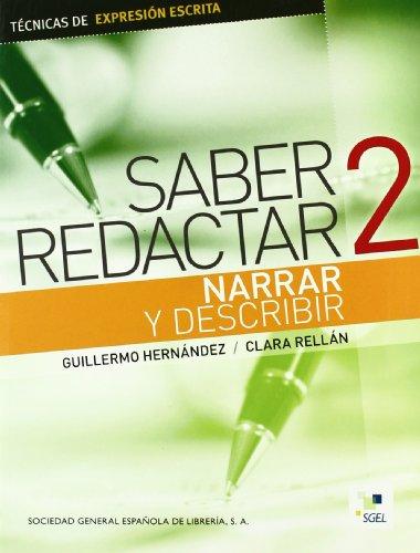 Reflets 3 profesor: Narrar y describir (Cuadernas de Redaccion) - 9788497783958