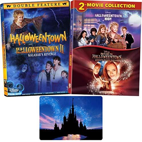 Halloweentown 4 Filmserien Disney DVD Collection mit Bonus Hochglanz-Kunstdruck (Halloweentown 1-2 High and Return to)