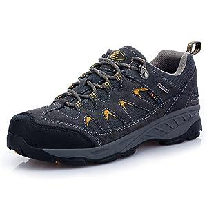 TFO Herren Trekking & Wanderschuhe Wasserabweisende und Atmungsaktive Outdoor Schuhe mit Rutsfeste Sohle