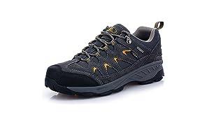 TFO Trekking Schuhe Herren/Damen Wasserabweisende und Atmungsaktive Wanderschuhe mit Anti-Rutsch-Sohle (Hersteller-Größentabelle im Produktbild Beachten)