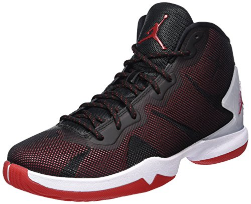 Nike Herren Jordan Super.Fly 4 Basketballschuhe Schwarz (Black/Gym Red-White-Infrrd 23)