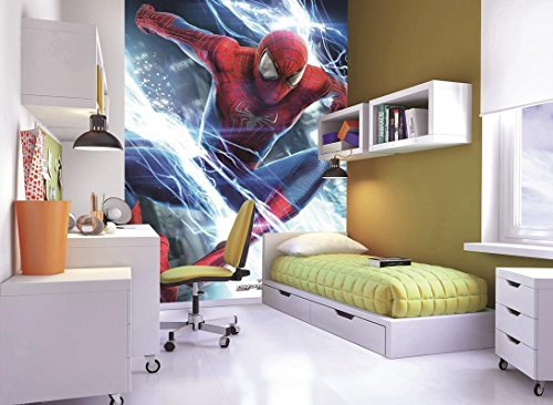 1 Wall W2PL-SPIDERMAN-002 The Amazing Spider-Man Wall Mural/Fototapete (Amazing Man Wand Spider)