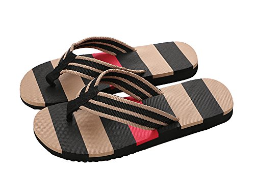 Wealsex sandalen herren zehentrenner S Schwarz