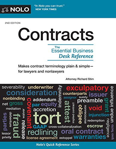 Contracts: The Essential Business Desk Reference