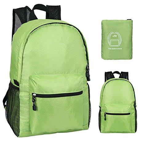 ZYPMM Die Hauptdruckfeder 2017 Modelle Umhängetasche faltbare Reisetasche ultraleichte Haut paket Green