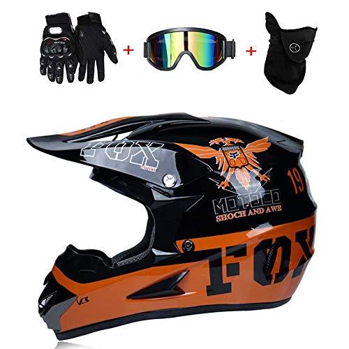 SK-LBB - Casco para motocross