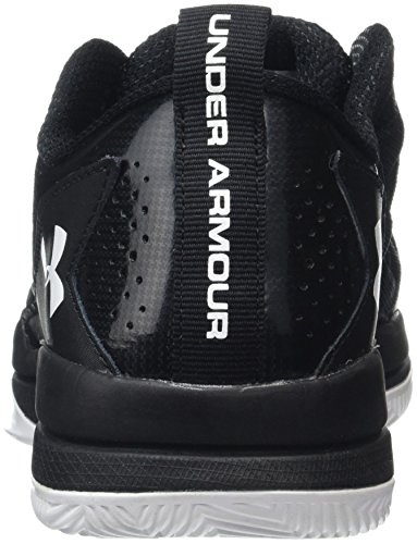 Under Armour Jet Low, Chaussures de Basketball Homme Noir (Black)