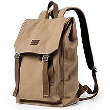Mochilas Escolares,Coofit Mochilas de Tela Mochilas Hombre Universidad Casual Bolso Mochila Laptop Bag