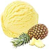 Ananas Geschmack 1 Kg Gino Gelati Eispulver für Speiseeis Softeispulver Speiseeispulver