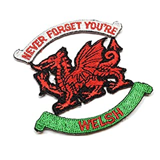 AGT Never Forget You're Welsh Embroidered Patch
