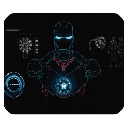Custom Marvel Comics Hero Iron Man High Quality Printing Square Mouse Pad Design Your Own Computer Mousepad Custom Ipod Cases
