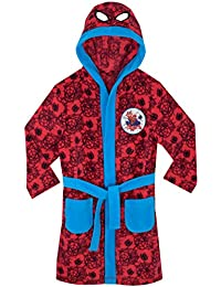 Spiderman Boys Spider-Man Dressing Gown Ages 2 to 12 Years