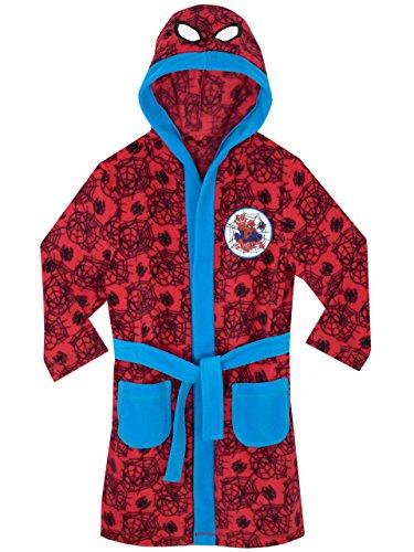 L'Homme Araignée - Robe de Chambre - Spiderman - Garçon - 6 - 7 Ans