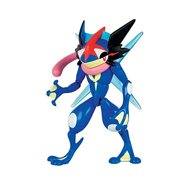 TOMY Pokémon–Figura de acción, Ash-Greninja 1