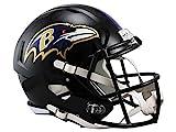 Casco Speed Replica per Football Americano NFL, Full Size, Baltimore Ravens