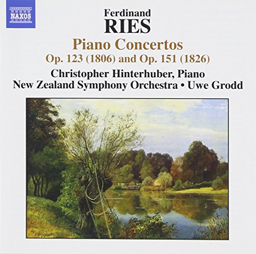Ferdinand Ries : Concertos pour piano Op. 123 et op. 151