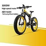 LANKELEISI XT750PLUS 48V 14AH 1000W Moteur Nouveau Tout-Puissant Vélo Électrique...