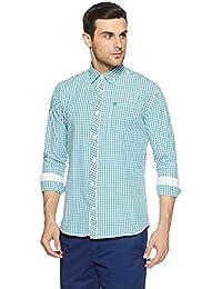 Duke Men's Checkered Slim Fit Casual Shirt