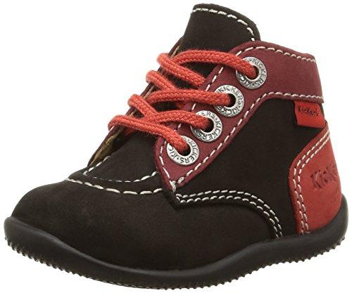 Kickers Unisex Babies' Bonbon First Walking Shoes Black Size: 4.5 Child UK