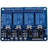 TOOGOO(R) 5V 4-Canal Modulo rele Shield for Arduino ARM PIC AVR DSP Electronic