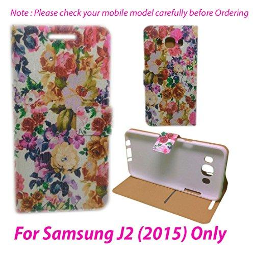 For Samsung Galaxy J2 SM-J200F Flip Cover Case : DEKKIN Designer Fancy Premium Flip Cover Case For Samsung Galaxy J2 SM-J200F – DESIGN27