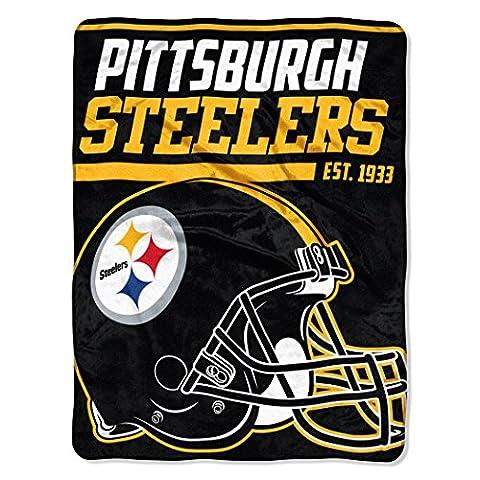 Northwest Pittsburgh Steelers Super Plush NFL Decke