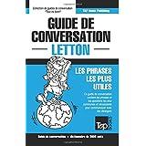 Guide de conversation Français-Letton et vocabulaire thématique de 3000 mots