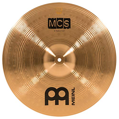 Meinl Cymbals MCS16MC MCS Serie 40,64 cm (16 Zoll) Crash Becken