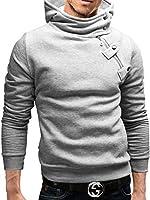 MERISH Kapuzenpullover Sweatshirt Pullover Größen S-XXL 15