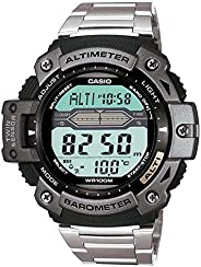 Casio Mens Quartz Watch, Digital Display and Stainless Steel Strap - SGW-300HD-1AVDR