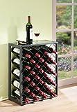 32 Bottiglie di Vino Rack con Vetro Tavolo - Best Reviews Guide