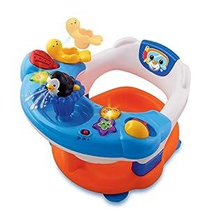 accesorios para bebe: Vtech Infantil - Aquasilla, silla de baño para jugar en la bañera (80-113722)