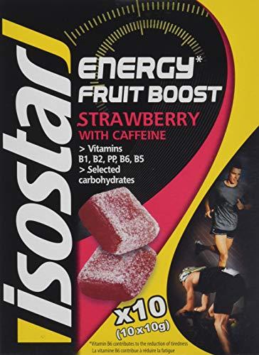 Energy-boost (Isostar High Energy Fruit Boost Strawberry, 5er Pack (5 x 100 g))