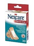 Nexcare Blood Stop Pansements Hémostatiques Set de 30 Pansements