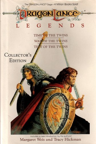 Dragonlance Legends: Time of the Twins, War of the Twins, Test of the Twins by Margaret Weis (1988-10-02)