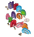 #9: Chalk and Chuckles  Adoorable race, Multi Color