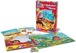 Clementoni - Jouet Premier Age - L'Alphabet avec Dora