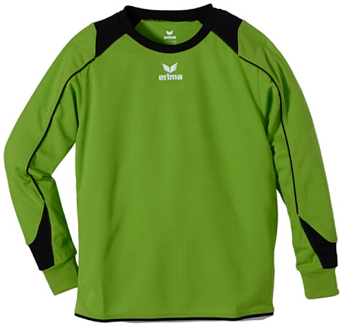 erima Kinder Trikot Santiago langarm, green/schwarz, 128, 314115