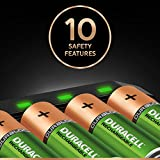 Duracell 5 minutes Hi-Speed Expert Battery Charger with 4 AA batteries included
