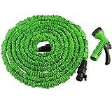 Grafner® Flexibler Gartenschlauch 15 Meter dehnbarer Wasserschlauch Schlauch