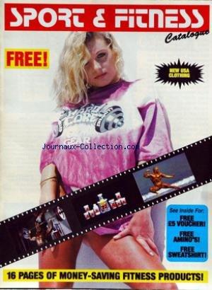 SPORT ET FITNESS CATALOGUE - NEW U.S.A. CLOTHING.
