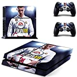 Hytech Plus FIFA 18 Special Edition Theme Skin Sticker Cover for PS4 Console and Controllers