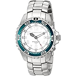 Momentum M1 Twist Women's Quartz Watch with White Dial Analogue Display and Silver Stainless Steel Bracelet 1M-DV11WT0