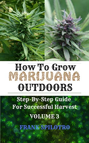 HOW TO GROW MARIJUANA OUTDOORS: Step-By-Step Guide for Successful Harvest (English Edition)