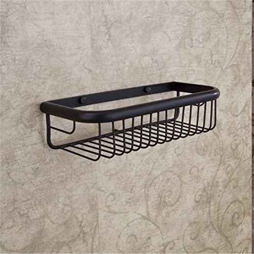 weare-home-solid-brass-rectangle-bath-shelf-matte-black-cosmetic-holder-storage-basket-oil-rubbed-br