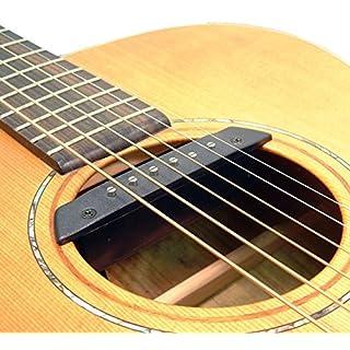 ARTEC MAGNETIC Schallloch-Tonabnehmer für Westerngitarre 6 oder 12 STRING