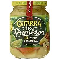 Gvtarra Tus Primeros Col, Patatas y Zanahoria Verdura - Paquete de 6 x 400 gr - Total: 2400 gr